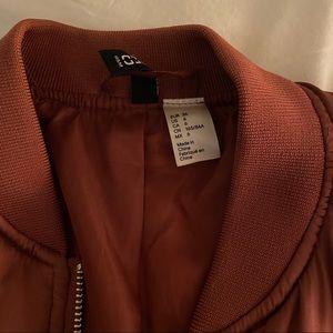 H&M Jackets & Coats - H&M Rose gold Bomber